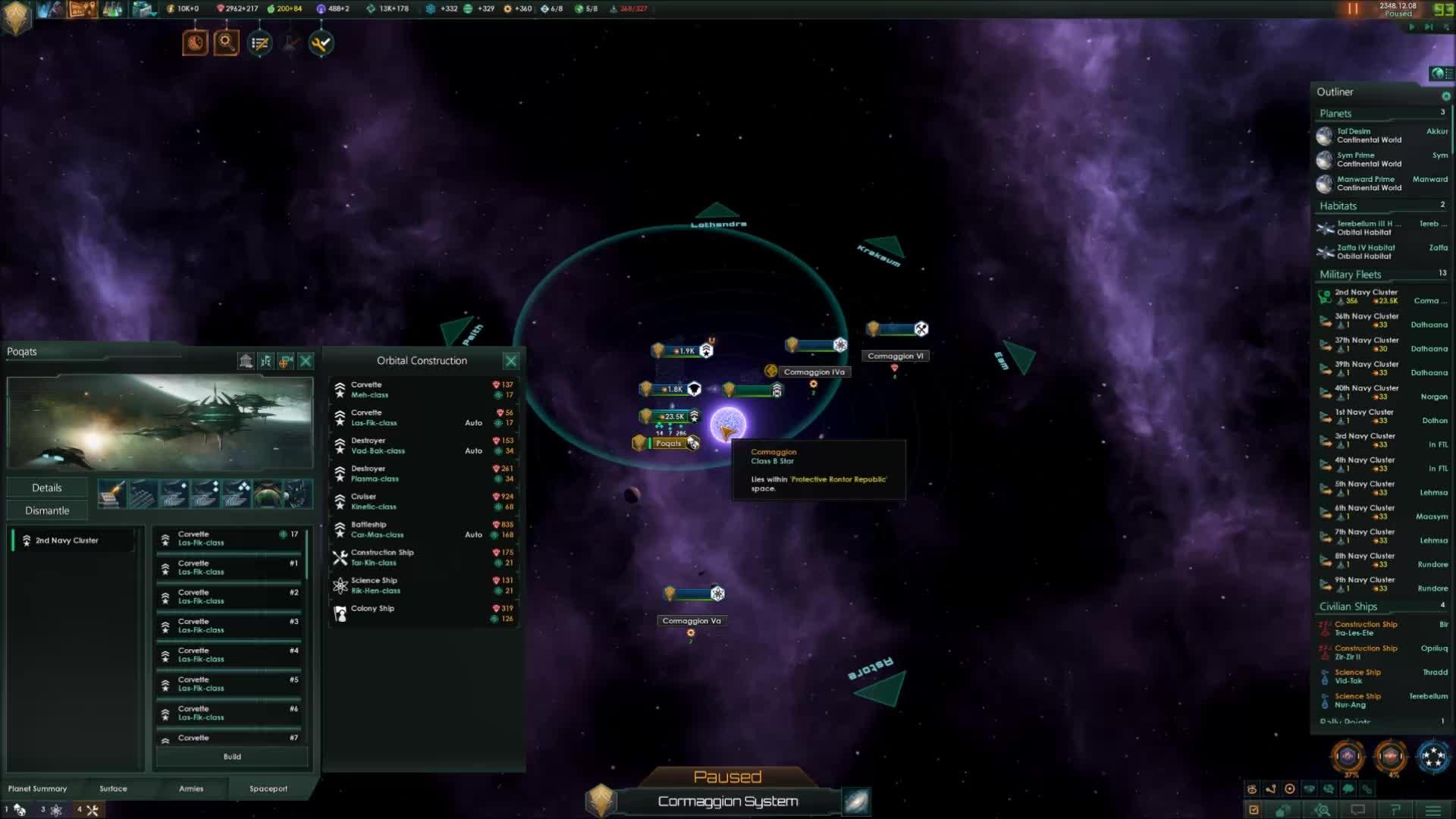 stellaris, corvettes are op GIFs
