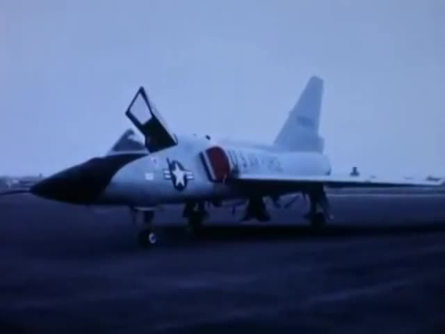 Watch Project Six Shooter: Test of M61 Vulcan 20mm Cannon on F-106A 1969 US Air Force-Convair GIF by @wholeein on Gfycat. Discover more documentary, education, educational GIFs on Gfycat
