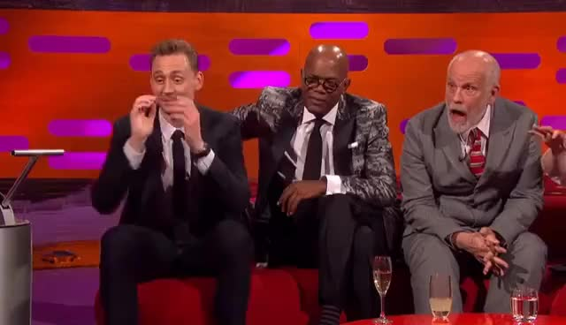 Watch and share X Rated Red Chair | Sexy Stories On The Graham Norton Show GIFs on Gfycat