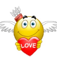 Watch and share Animated  Smile animated stickers on Gfycat