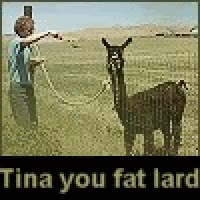 Watch and share Tina You Fat Lard Get Some Dinner! GIFs on Gfycat