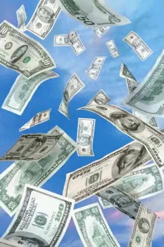 Watch and share Raining Money GIFs on Gfycat