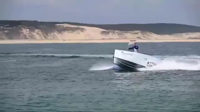 Watch and share Iguana Yachts - Amphibious Boat In Action GIFs on Gfycat