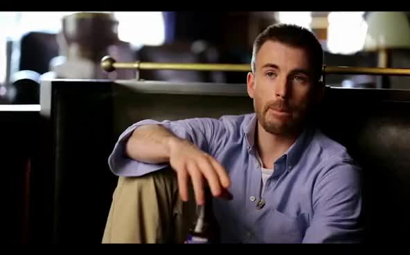 Watch this chris evans GIF on Gfycat. Discover more chris evans, interview, nodding GIFs on Gfycat