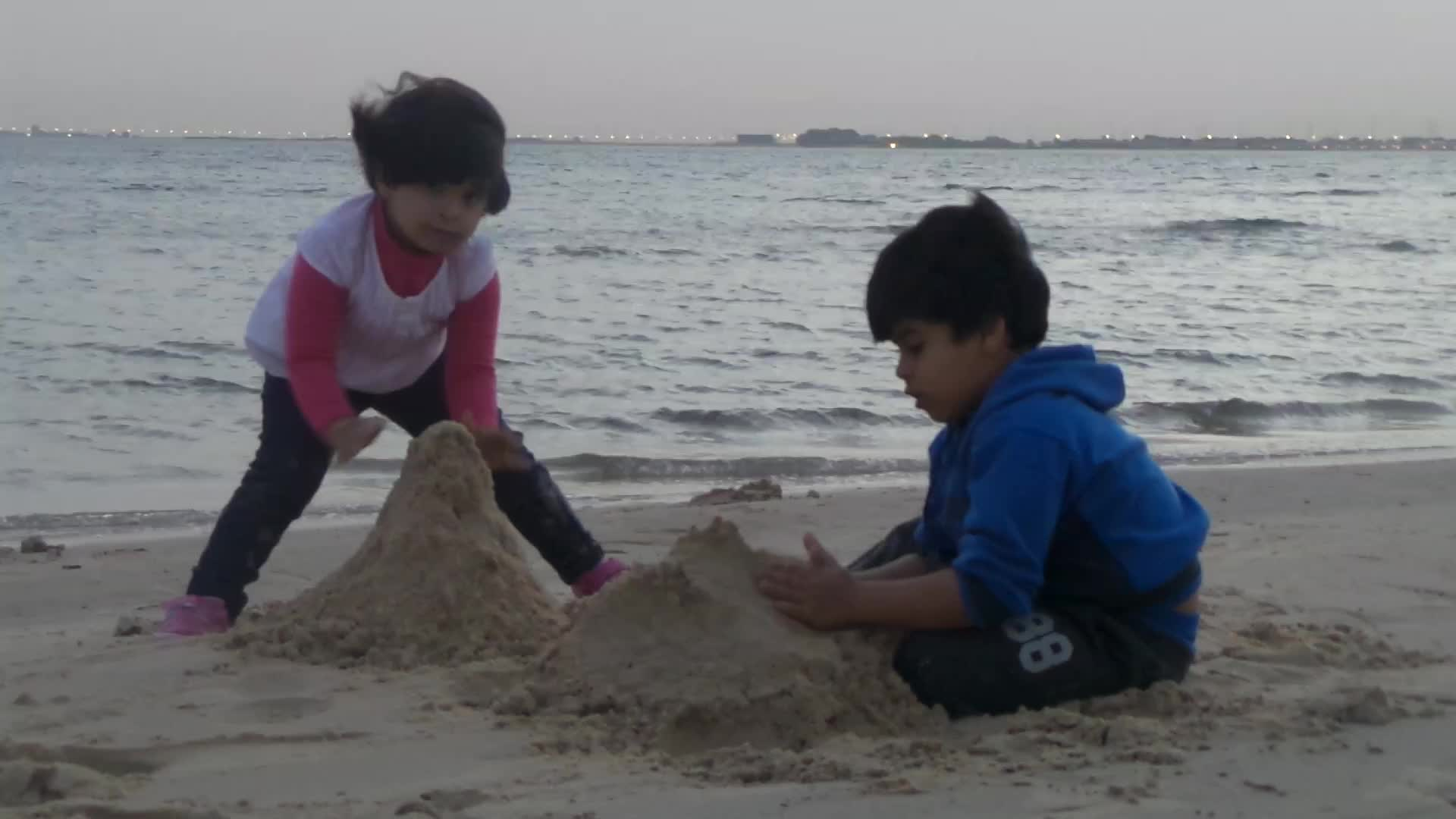 games, kid, kids in the beach, play, kids in the beach , majed and lina GIFs