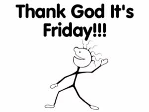 Watch and share Its Friday Animation Clipart GIFs on Gfycat