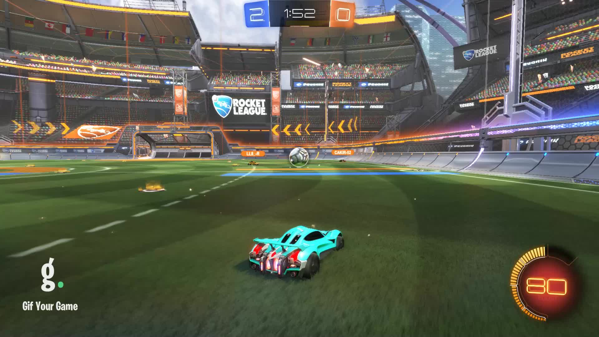 Gif Your Game, GifYourGame, Goal, Litro, Rocket League, RocketLeague, Goal 3: Litro GIFs