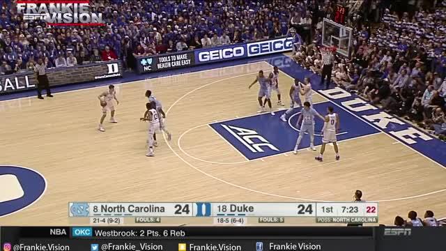 Watch Luke Kennard (Duke) Full Highlights vs North Carolina // 2.9.17 // 21 Pts GIF by @connorweingarten on Gfycat. Discover more blue, devils, duke GIFs on Gfycat