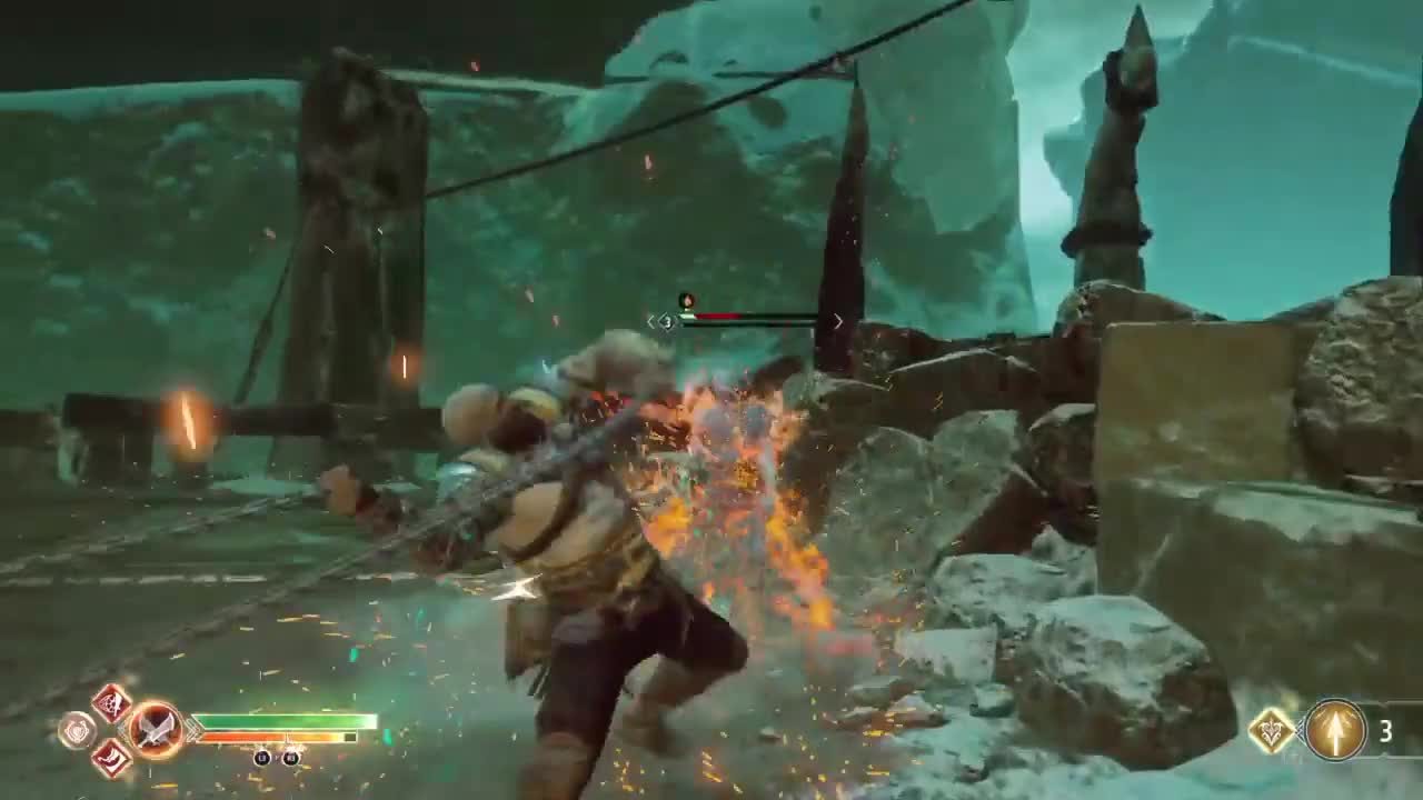GamePlay, GodofWar, Kratos, PS4Share, destiny2, xenolon, God of War Slo Mo Tandem GIFs