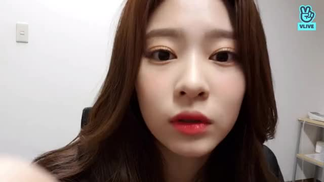 Watch and share Minju Bday Vlive 6 GIFs on Gfycat