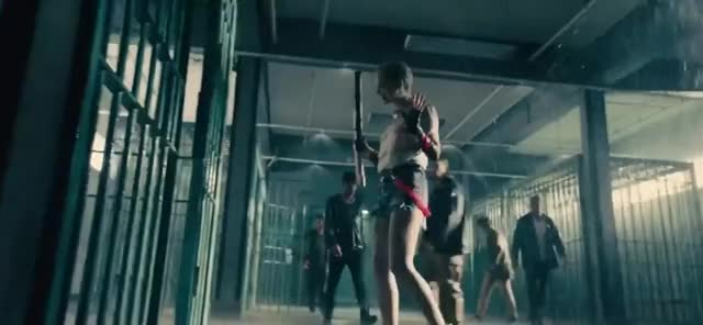 Watch and share Harley Quinn Vs Inmates GIFs by BOC on Gfycat