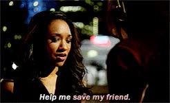 Watch and share Barry Allen GIFs and Iris West GIFs on Gfycat