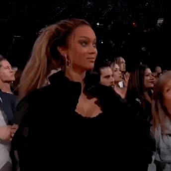 2018, bbmas, billboard music awards, omg, powerful, shook, tyra banks, Tyra Banks - That Was POWERFUL GIFs