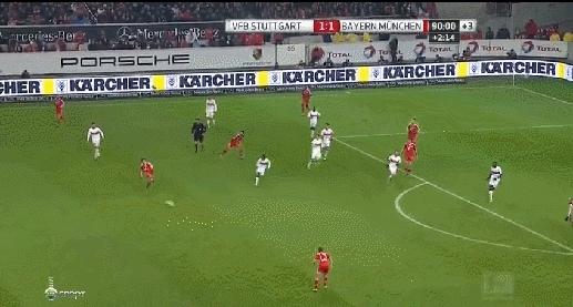 fcbayern, Thiago Super Goal. 2-1 Bayern in the 93rd GIFs