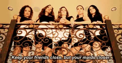Watch and share Devious Maids Gif, Keep Your Friends Close, But Your Maids Closer. GIFs on Gfycat