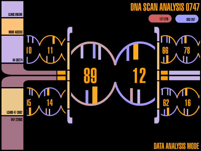 Watch DNA Scan Analysis GIF by @chaosoverfiend on Gfycat. Discover more Star Trek GIFs on Gfycat