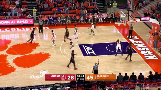 Watch 2017-18 College Basketball: Louisiana vs. Clemson (Full Game) GIF on Gfycat. Discover more ACC, Belt, Cajuns, Clemson, ESPN, Lafayette, Louisiana, Ragin, Sun, Tigers GIFs on Gfycat