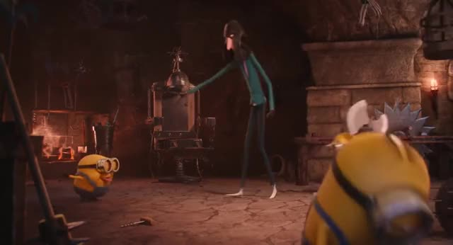 Watch and share Minions Throwing Axe GIFs by AzureBeast on Gfycat