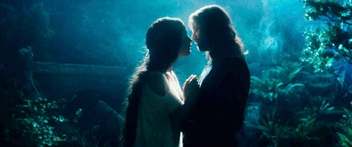 aragorn, arwen, arwen evenstar, arwen undomiel, fotr, liv tyler, lord of the rings, lotr, lotredit, lotrgif, mine, rotk, tolkien, tolkienedit, ttt, viggo mortensen, For I am the daughter of Elrond. I shall not go with him whe GIFs