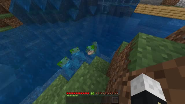 Minecraft Drowned Ghost GIF by statyk | Gfycat