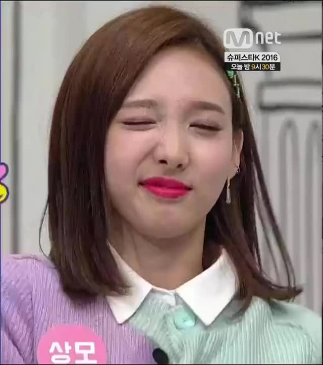 Watch and share Cutie TT Nayeon Winks GIFs by Ahrigato on Gfycat
