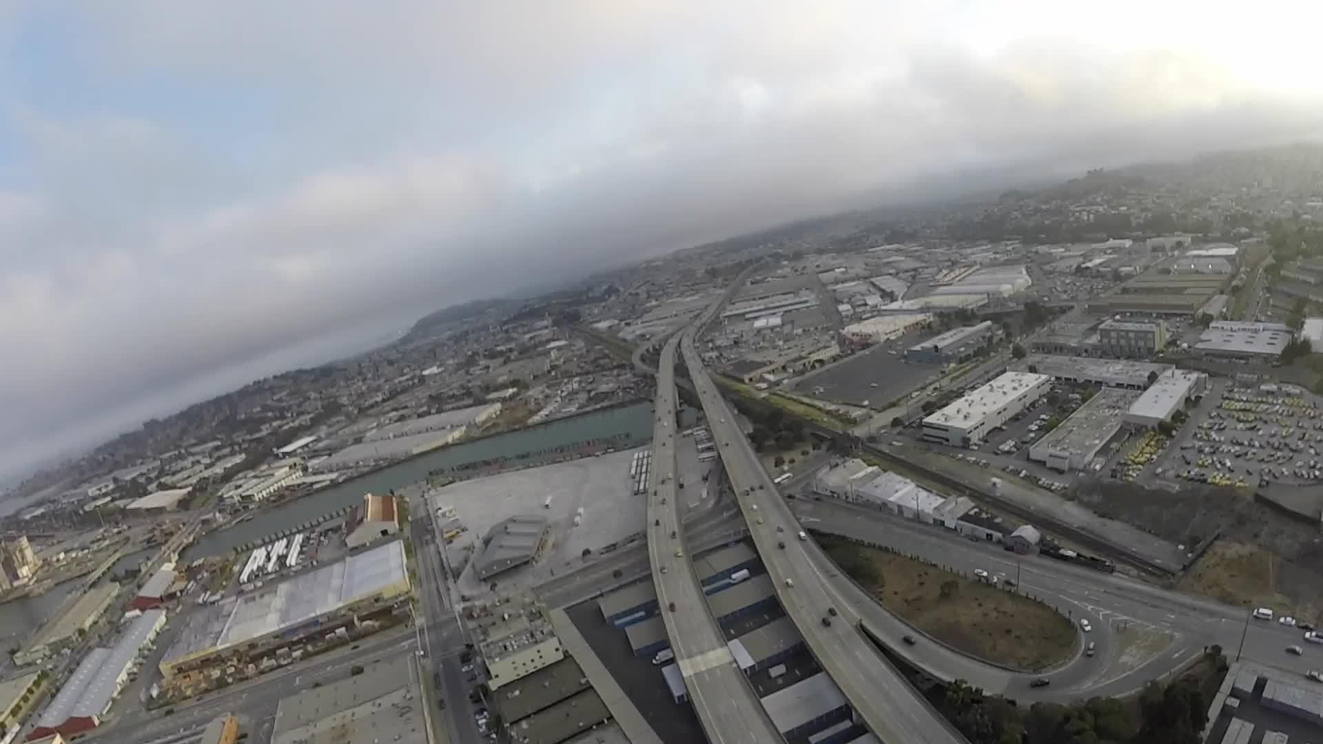 dogpatch, drone, drone footage, drones, san francisco, Drone footage from San Francisco in Dogpatch #3 GIFs