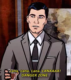 Watch dangerzone GIF on Gfycat. Discover more archer GIFs on Gfycat
