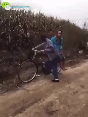 Watch Riding our bike Submitted to WhyWereTheyFilming by ErraticDragon View thread - subreddit - user on reddit.com      0 GIF on Gfycat. Discover more related GIFs on Gfycat