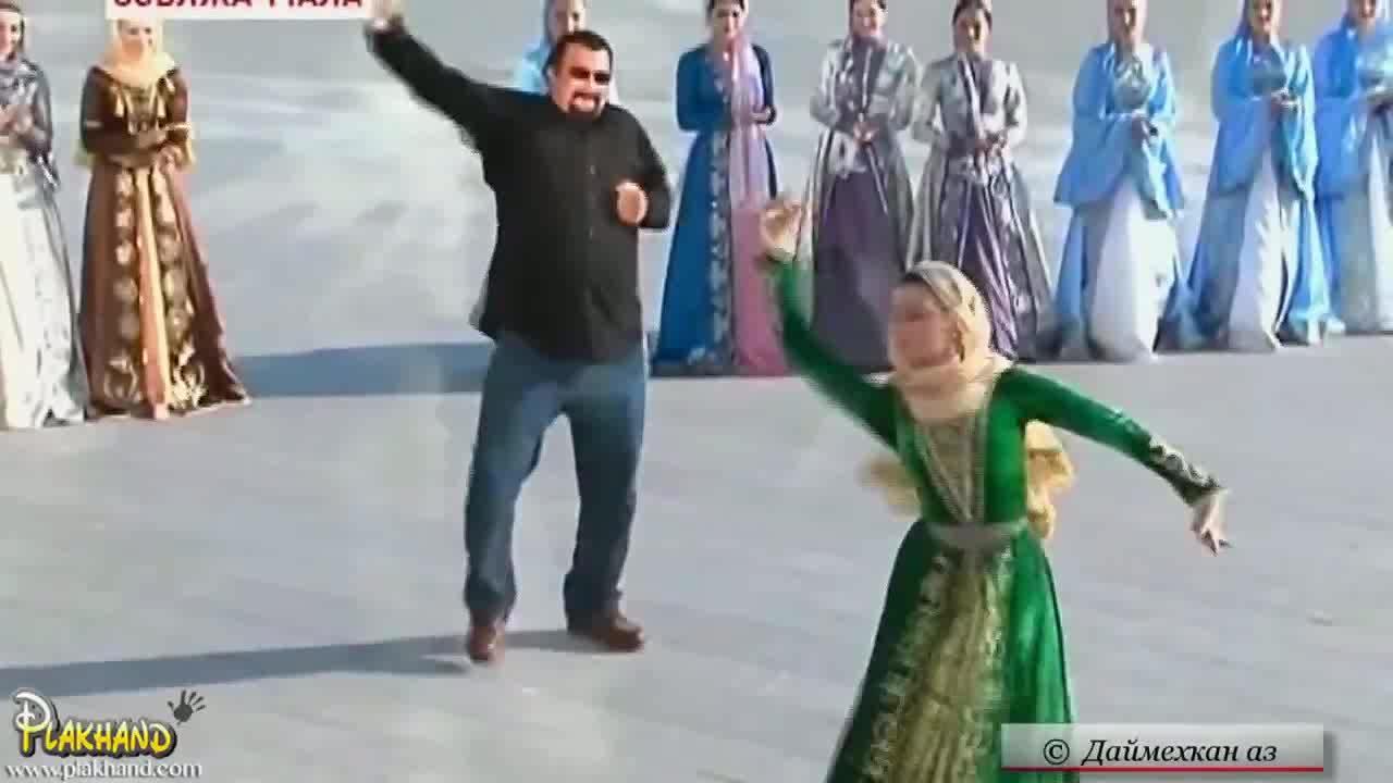 anormaldayinrussia, Steven Seagal dancing in Russia (reddit) GIFs