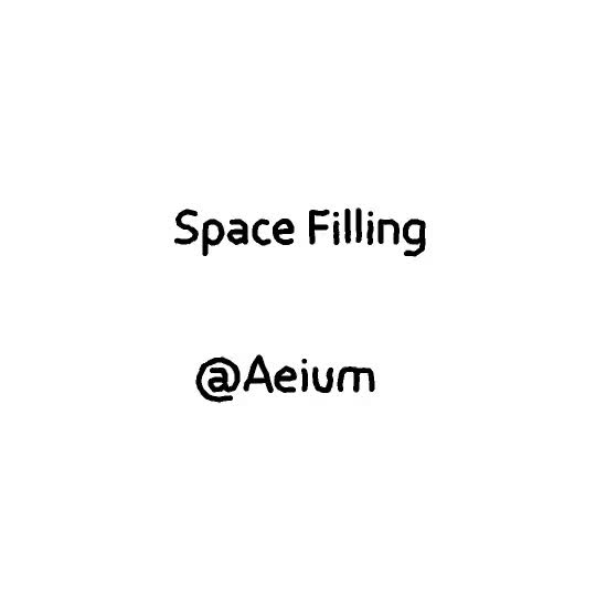 Watch and share Space Filling GIFs by Aeium on Gfycat