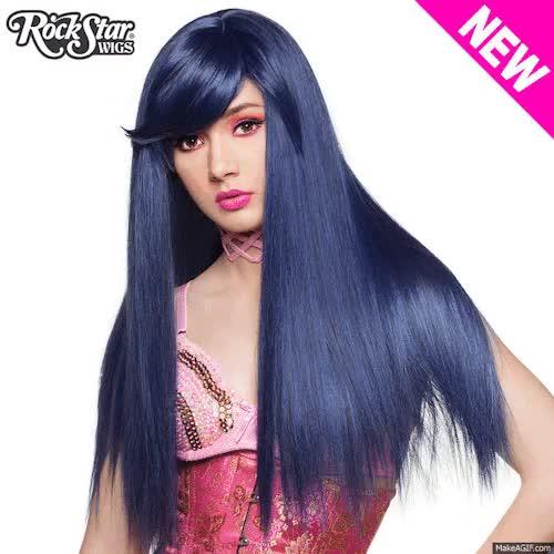 Watch and share Gothiclolirta Wigs GIFs and Hairfashion GIFs on Gfycat