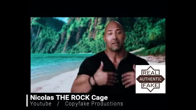 Watch and share Nicolas Cage As Dwayne Johnson GifFake - /r/GifFakes GIFs on Gfycat