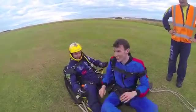 Skydiving - Falling From 15,000ft GIFs