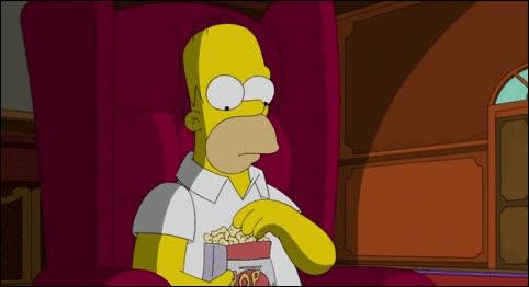 popcorn, Popcorn Homer GIFs
