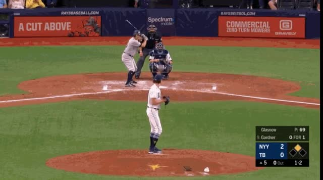 Watch and share Tampa Bay Rays GIFs and Baseball GIFs by natewattpl on Gfycat