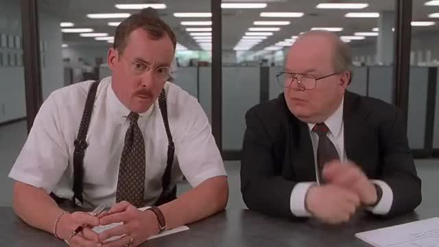 Watch and share Officespace GIFs and Funny GIFs by thenolank on Gfycat