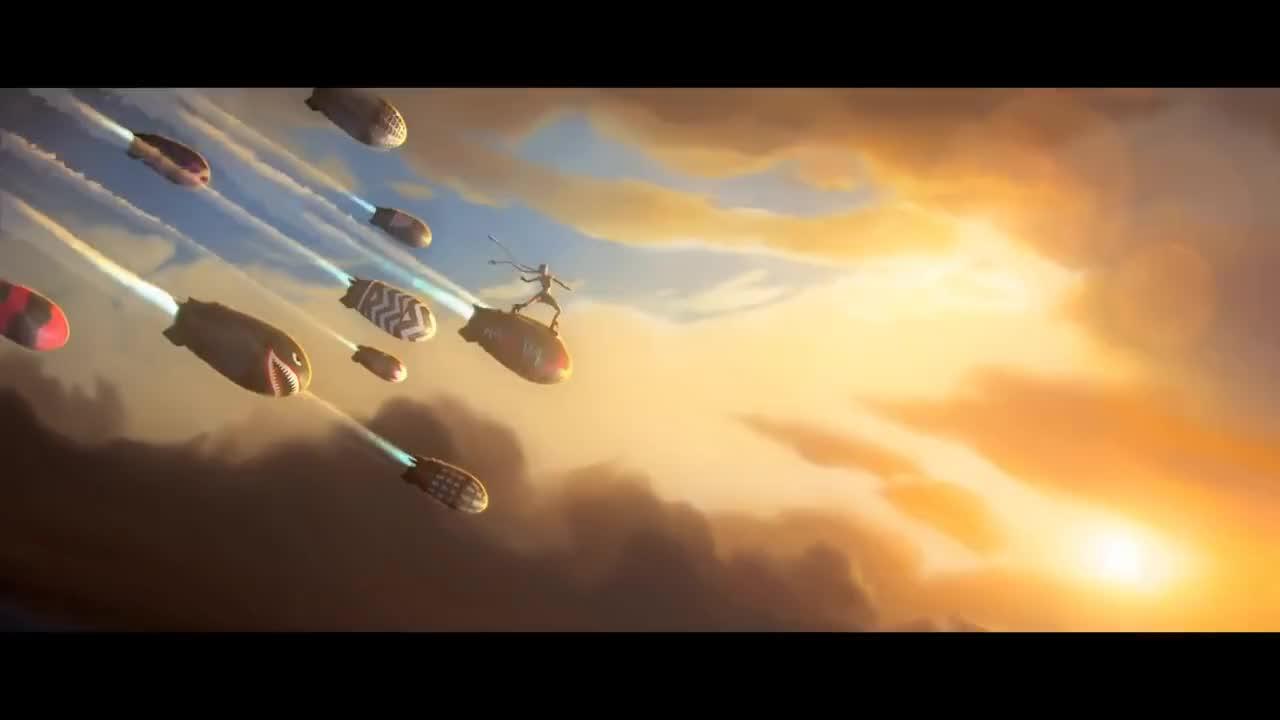 League, lol, riot, warthunder, Rocket surfing GIFs