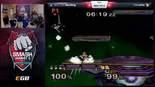 Mew2King vs Leffen - Singles - Smash Summit 3