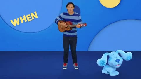 Watch and share Blue's Clues GIFs by MusicClues Cluey on Gfycat