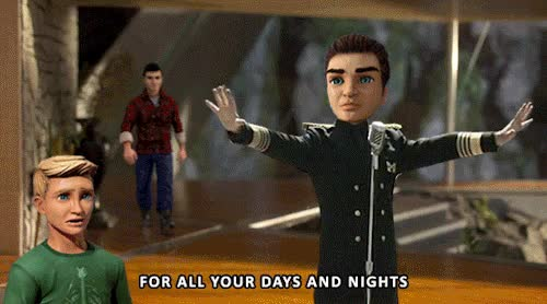Watch and share Thunderbirds Are Go GIFs and Scott Tracy GIFs on Gfycat