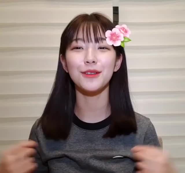 Watch and share Fromis_9 - Jiheon GIFs by hayoungposts on Gfycat