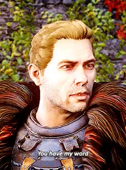 Watch and share Dragon Age GIFs and Cullen GIFs on Gfycat