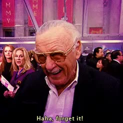 Watch and share Stan Lee GIFs on Gfycat