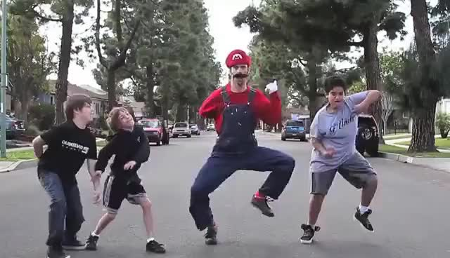 Watch and share Super Mario Super Dance GIFs on Gfycat
