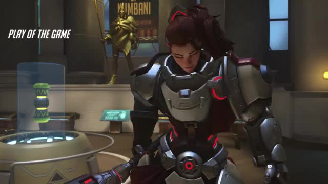Watch and share Overwatch GIFs and Brigitte GIFs by travis548 on Gfycat