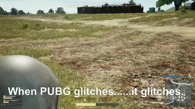 Watch When PUBG glitches......it glitches.  GIF by Gamer DVR (@xboxdvr) on Gfycat. Discover more xRadiantMindx, xbox, xbox dvr, xbox one GIFs on Gfycat