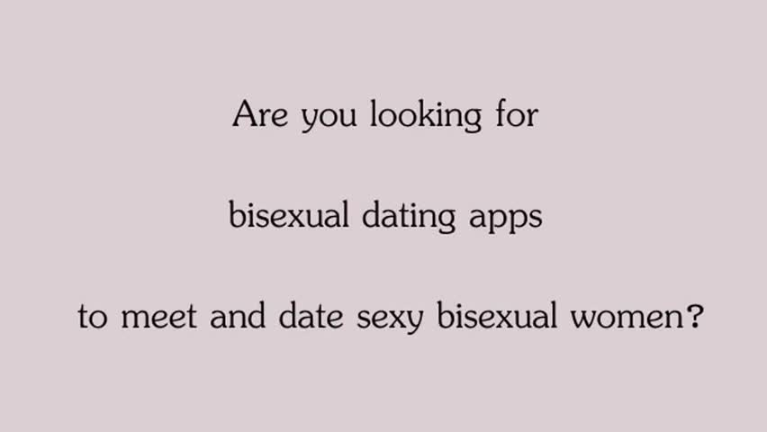 Apps for bisexual