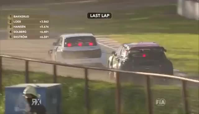 Watch Solberg vs Hansen vs Ekstrom: Latvia RX | FIA World RX GIF on Gfycat. Discover more related GIFs on Gfycat