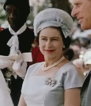 Watch and share Queen Elizabeth Ii GIFs and Royals In History GIFs on Gfycat