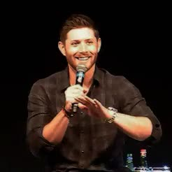 Watch and share Convention Gifs GIFs and Jensen Ackles GIFs on Gfycat